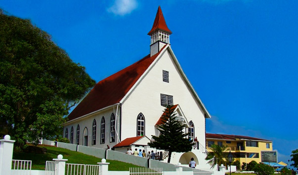 La Loma church San Andres Island