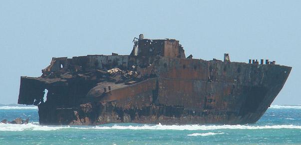 Shipwreck San Luis